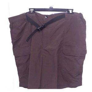 Men's Croft and Barrow Shorts Size 42! Brown